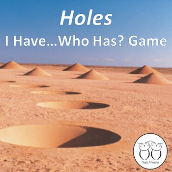 Holes I Have Who Has Game