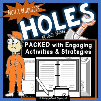 Holes Novel Study: A Complete Unit (Louis Sachar)