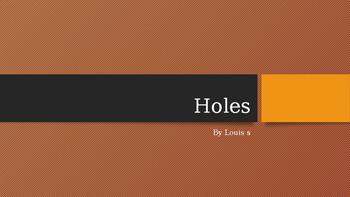 Holes Introdution PowerPoint