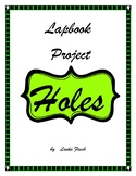 Holes Lapbook Project and Book Report