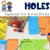 Holes Lapbook for Novel Study