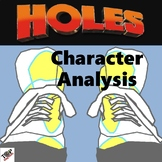 Holes Louis Sachar Character Analysis Activities