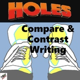 Holes Louis Sachar Compare and Contrast Writing Unit