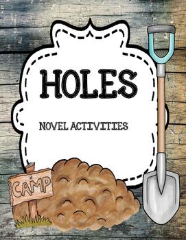 Holes by Louis Sachar - Novel Activities Unit