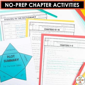 Holes by Louis Sachar Novel Study