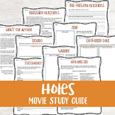 Holes Movie Study