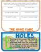 Holes, Novel Study, Flip Book Project, Writing Prompts, Vocabulary, Activities