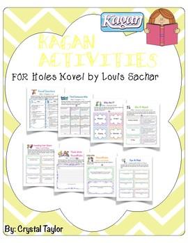 Holes Novel: Kagan activities