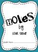 Holes - Novel  Study