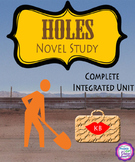 Holes Novel Study-Complete Integrated Unit