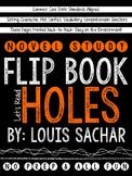 Holes Novel Study Flip Book
