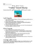 Holes Novel Study Project Ideas