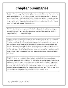 Holes Novel Study Teaching Guide