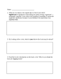 Holes Pre-Reading Questions