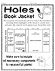 Holes Project: Create a Book Jacket! (Holes Book Report Activity)