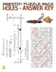 Novels : Holes Puzzle Page (Wordsearch and Criss-Cross)
