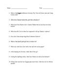 Holes Quiz Ch. 21-30
