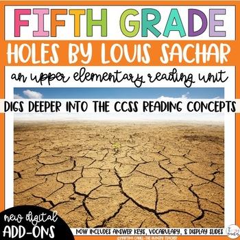 Fifth Grade Reading Unit - Holes