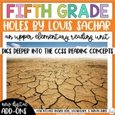 Fifth Grade Reading Unit - Holes
