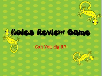 Holes Review Game Incorporating a Collaborative Strategy