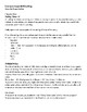 Holes Strategy and Skills Comprehension Packet