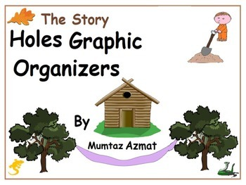 Holes: The Story Holes Graphic Organizer Worksheets: