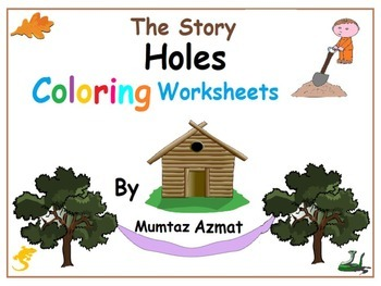 Holes: The Story Holes coloring worksheets: