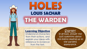 Holes - The Warden!
