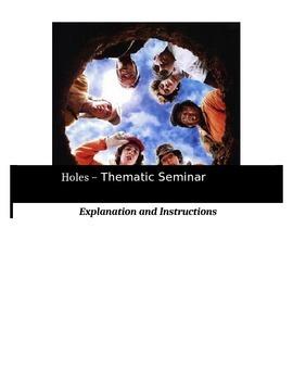 Socratic Seminar - Holes - Common Core Aligned