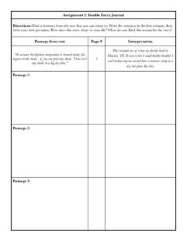 Holes Unit Plan & Worksheets PREVIEW