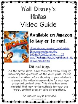 Holes Video Guide
