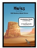 Holes Vocabulary Study