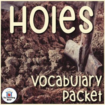Holes Vocabulary Packet