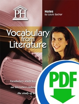 Holes Vocabulary from Literature