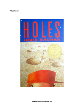 Holes, adapted for students with disabilities