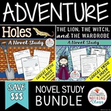 Holes and The Lion, the Witch, and the Wardrobe Novel Study Bundle