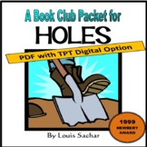 Holes, by Louis Sachar: A PDF or Digital Bookclub Packet