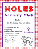 Holes by Louis Sachar Activity Bundle Part 1 Ch 1-28