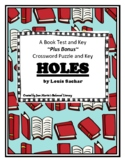 Holes, by Louis Sachar: Book Test and Key