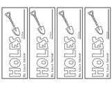 Holes by Louis Sachar Bookmarks