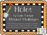 Holes, by Louis Sachar, Project Challenges to Extend Reading
