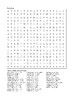 Holes by Louis Sachar - Chapters 33 - 41 Word Search
