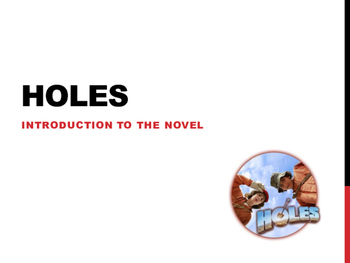 Holes by Louis Sachar - Full Scheme of Work & Resources