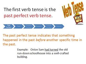 Holes  by Louis Sachar Grammar - Verb Tense/Tenses