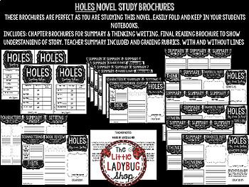 Holes Novel Study by: Louis Sacher