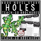 Holes Novel Study by: Louis Sacher [Book Report Template]