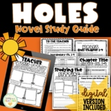 Holes by Louis Sachar {Novel Study}