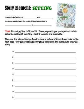 Holes by Louis Sachar Novel Study Packet