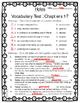 Holes by Louis Sachar Novel Study Vocabulary Bundle
