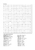 Holes by Louis Sachar - Word Search Chapters 42 - 50